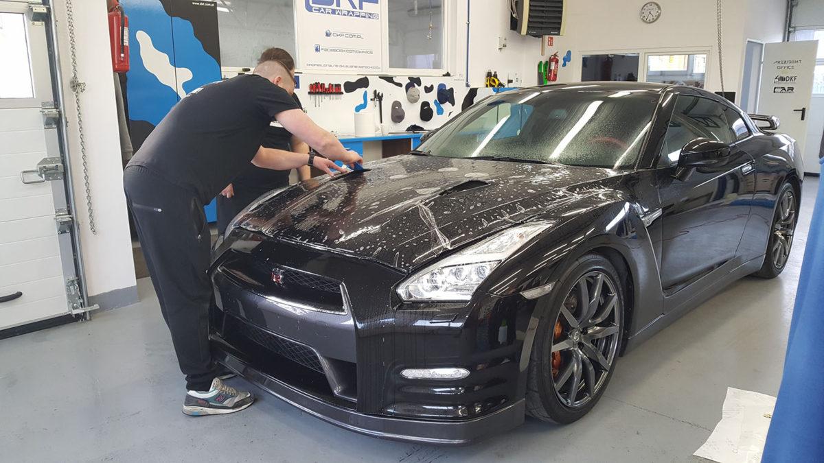 Nissan GTR Zabezpieczenie Lakieru Folią PPF