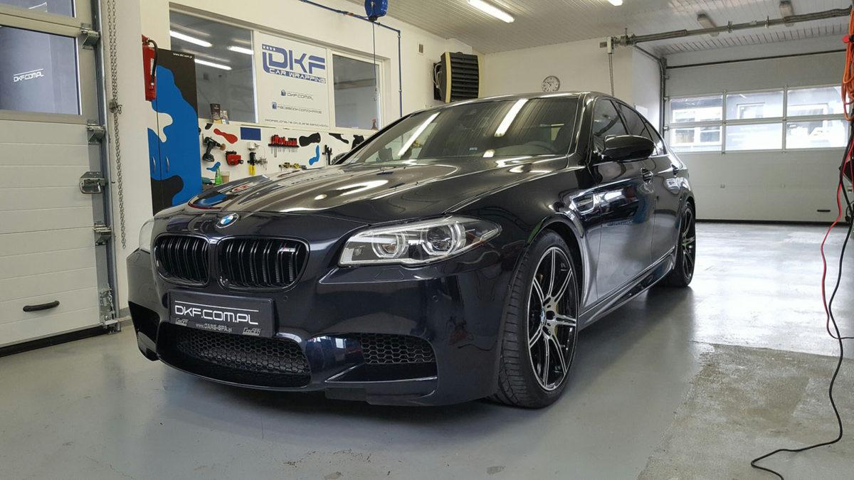 BMW M5 Zabezpieczenie Lakieru Folią PPF