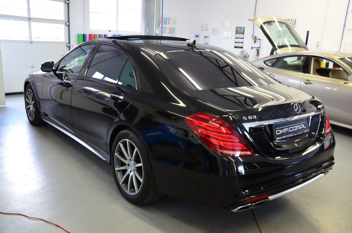 Mercedes S Klasa Przyciemnienie Szyb
