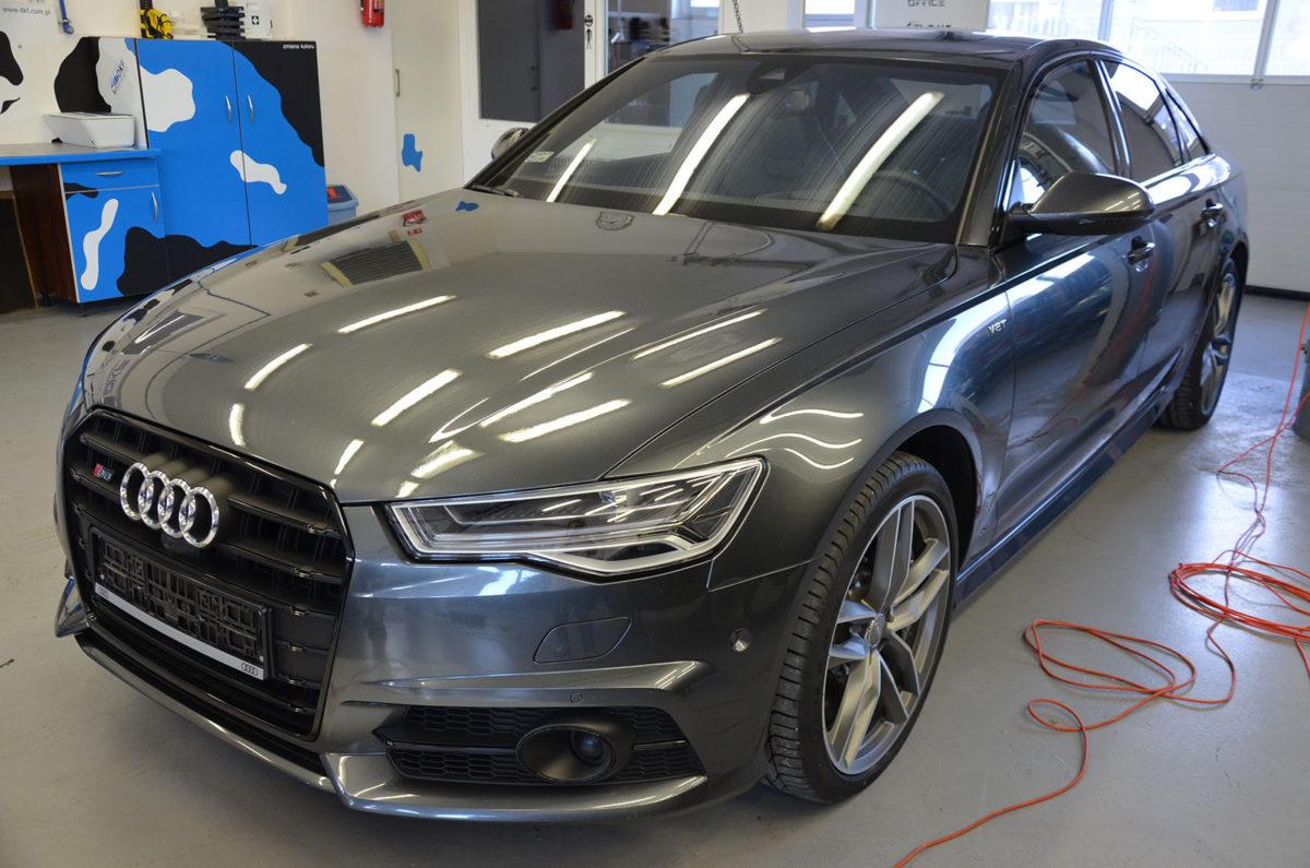 Audi S6 Zabezpieczenie Lakieru Folią PPF