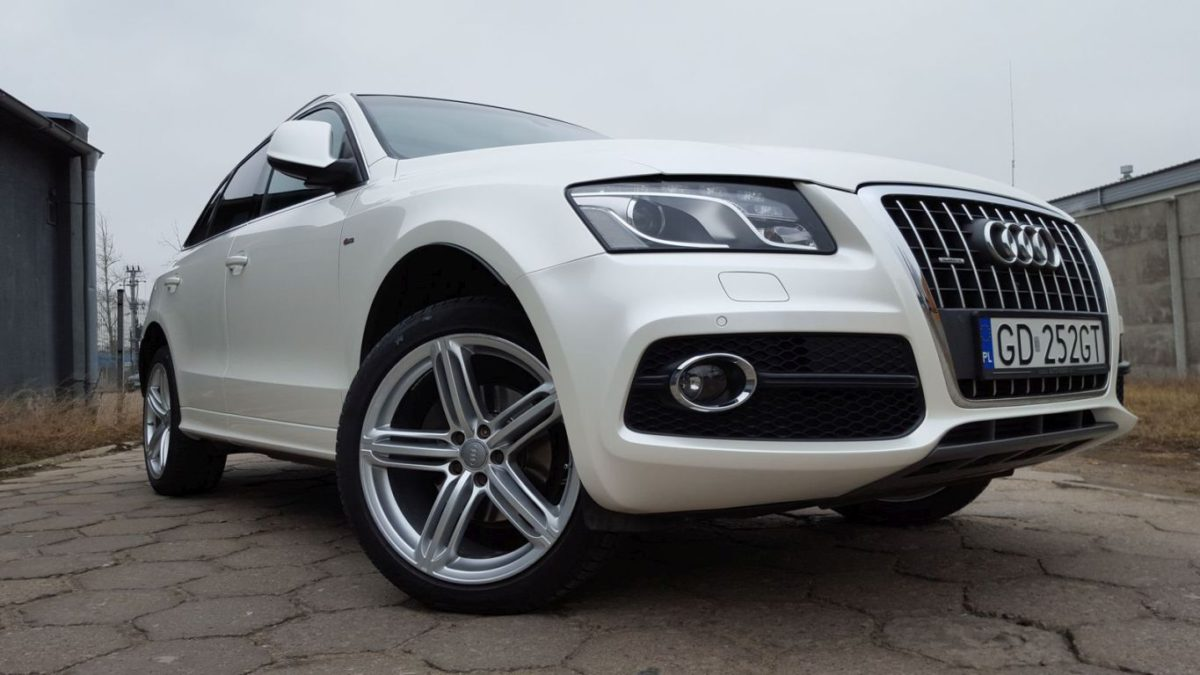 Audi Q5 Zmiana Koloru – Perlmutt Nacre