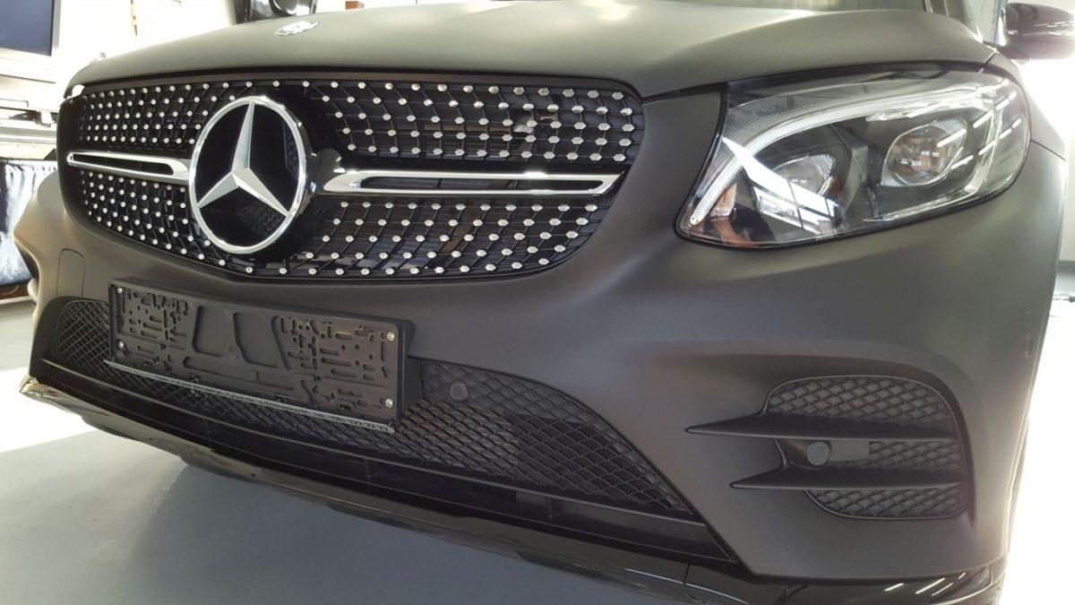 Mercedes GLC Zmiana Koloru – Black Matt