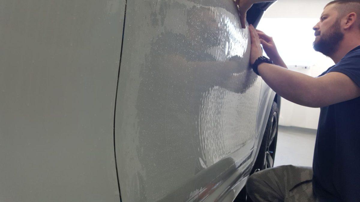 Porsche Cayenne Całościowe Zabezpieczenie Lakieru Folią PPF + Detailing Całości