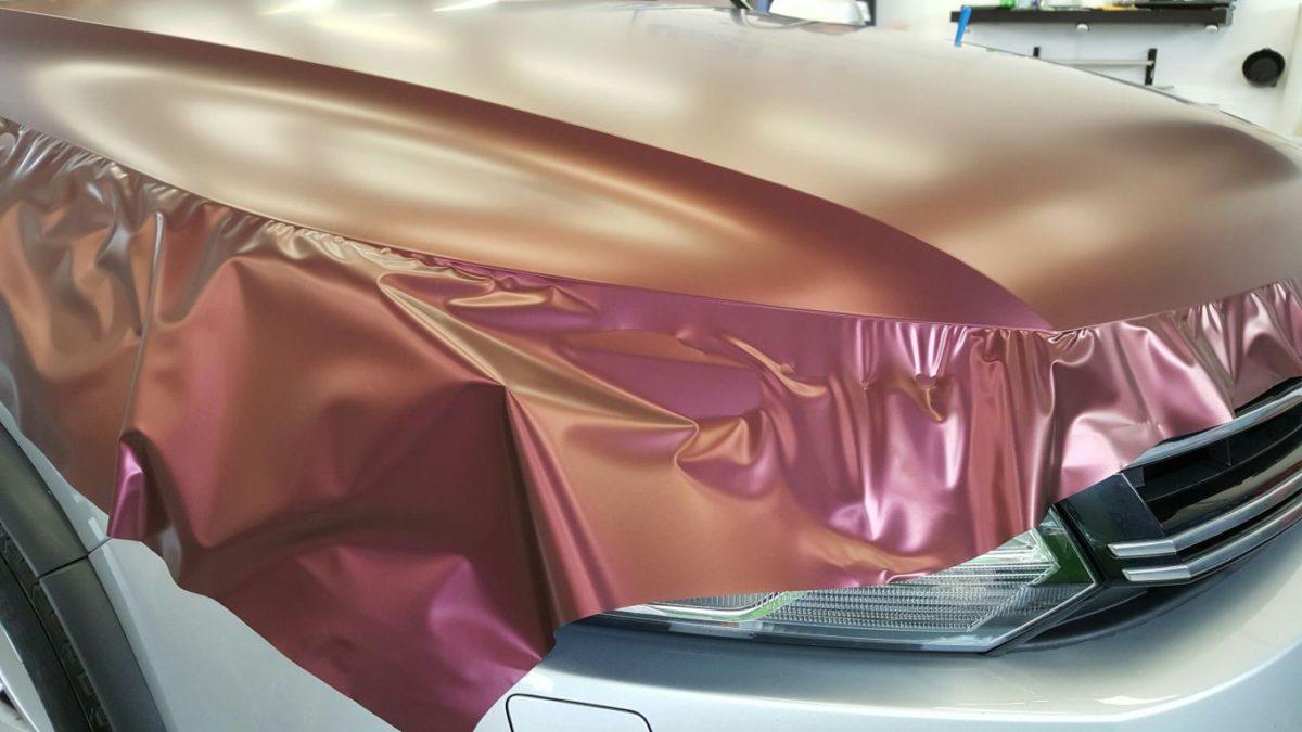VW Tiguan Zmiana Koloru – Kameleon Cranberry Matt