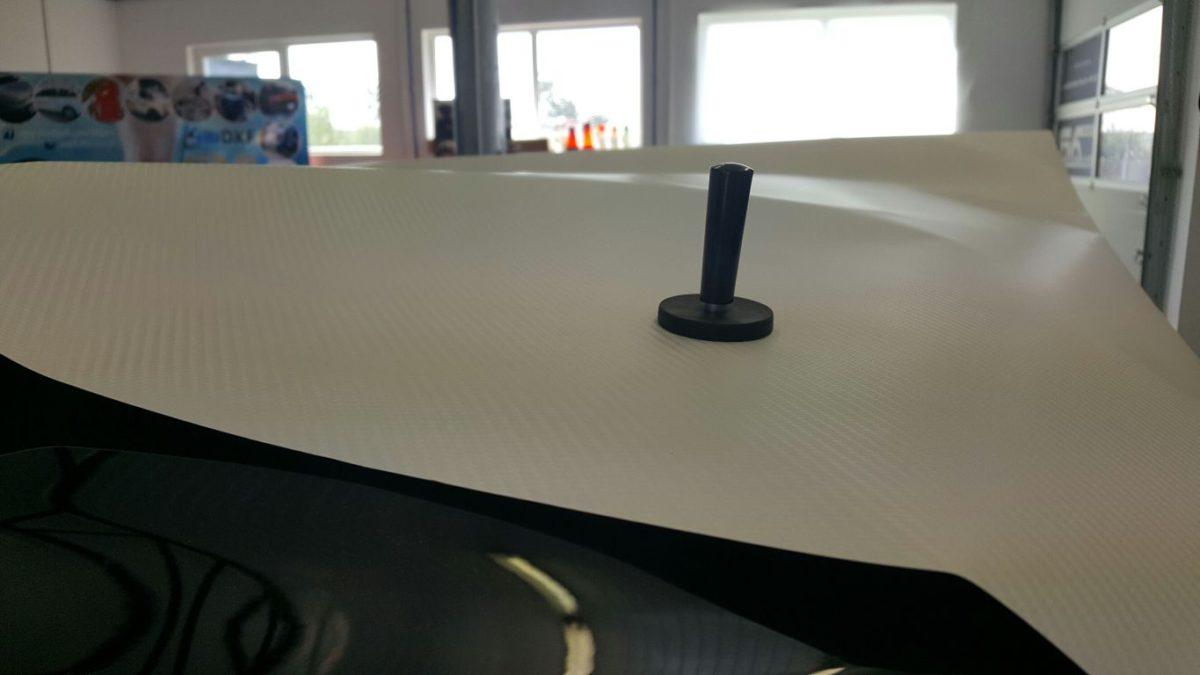 Mini Cooper oklejenie Dachu Carbon White