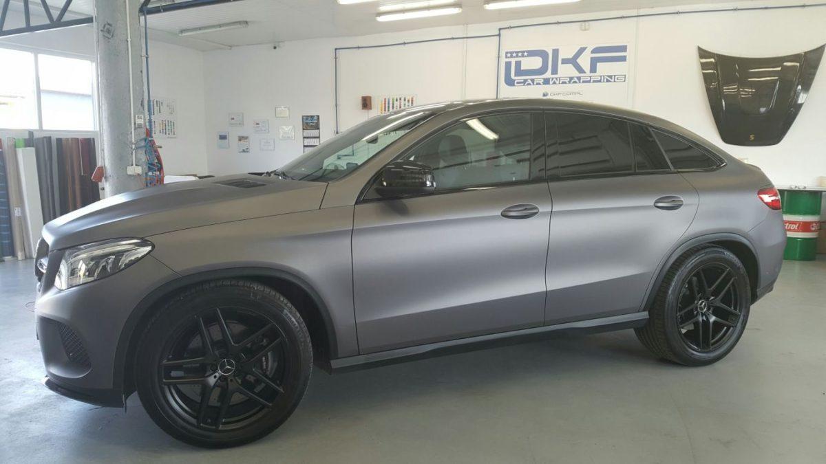 Mercedes GLE Zmiana Koloru Matte Metallic Charcoal + Lakierowanie Alufelg