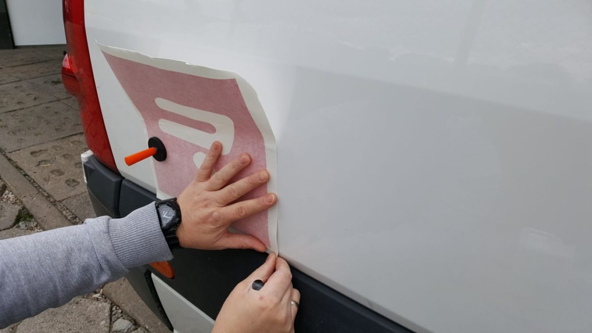 VW Crafter Oklejanie Marketingowe