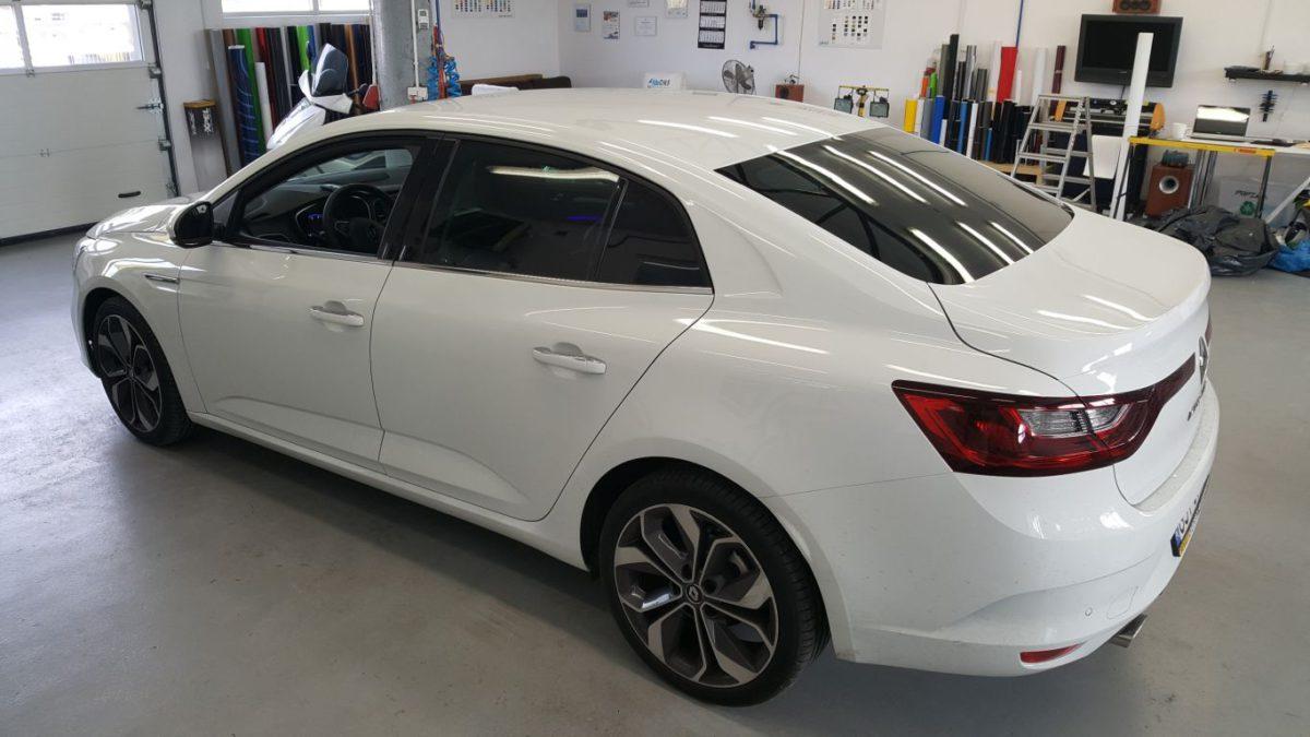 Renault Megane Oklejenie Dachu Czarny Połysk