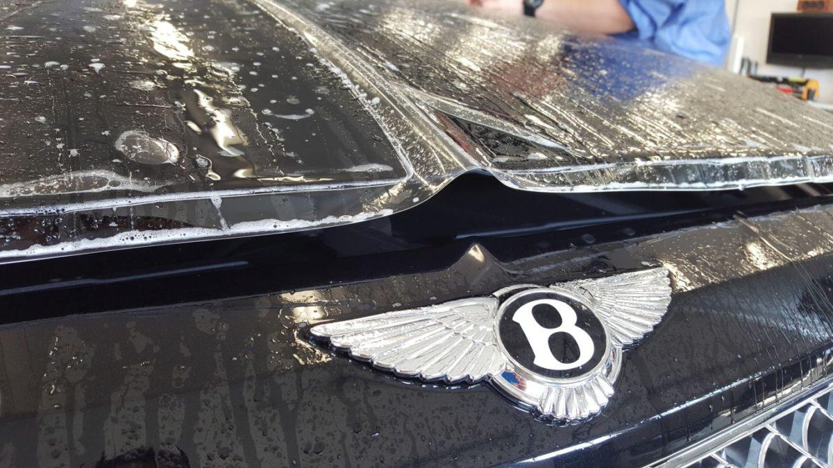 Bentley Bentayga Zabezpieczenie Lakieru Folią PPF + Detailing Całości