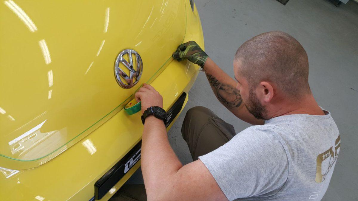 VW New Beetle Odwzorowanie Grafiki