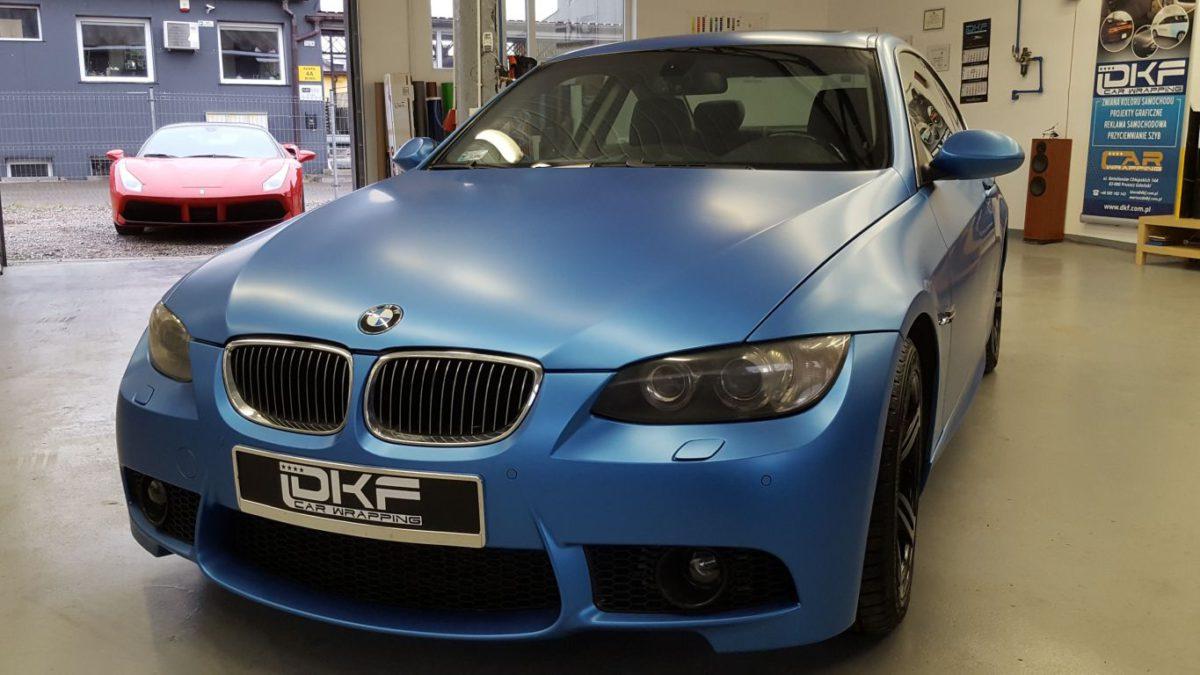 BMW 3 Cupe Zmiana Koloru – Azur Metallic Matt