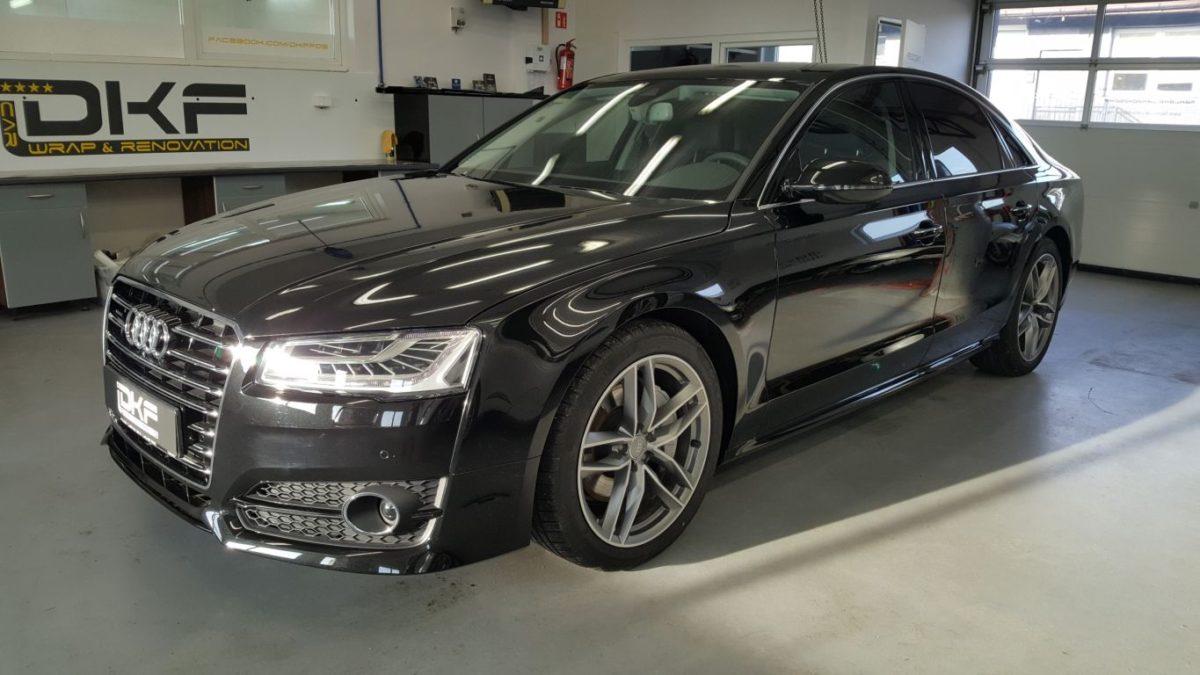 Audi A8 Zabezpieczenie Lakieru Folią PPF