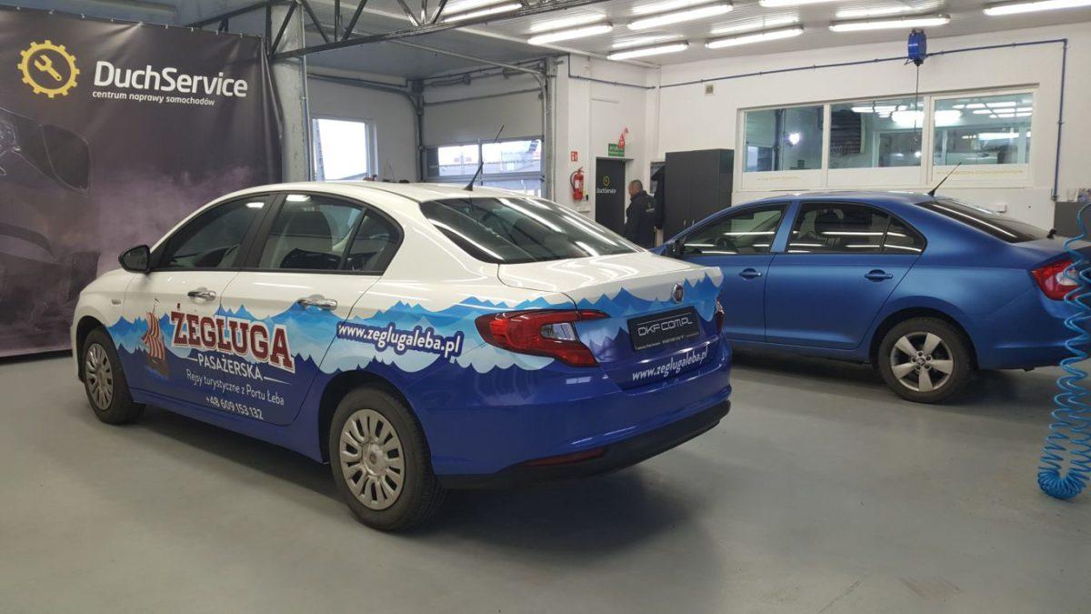 Fiat Tipo Oklejanie Marketingowe
