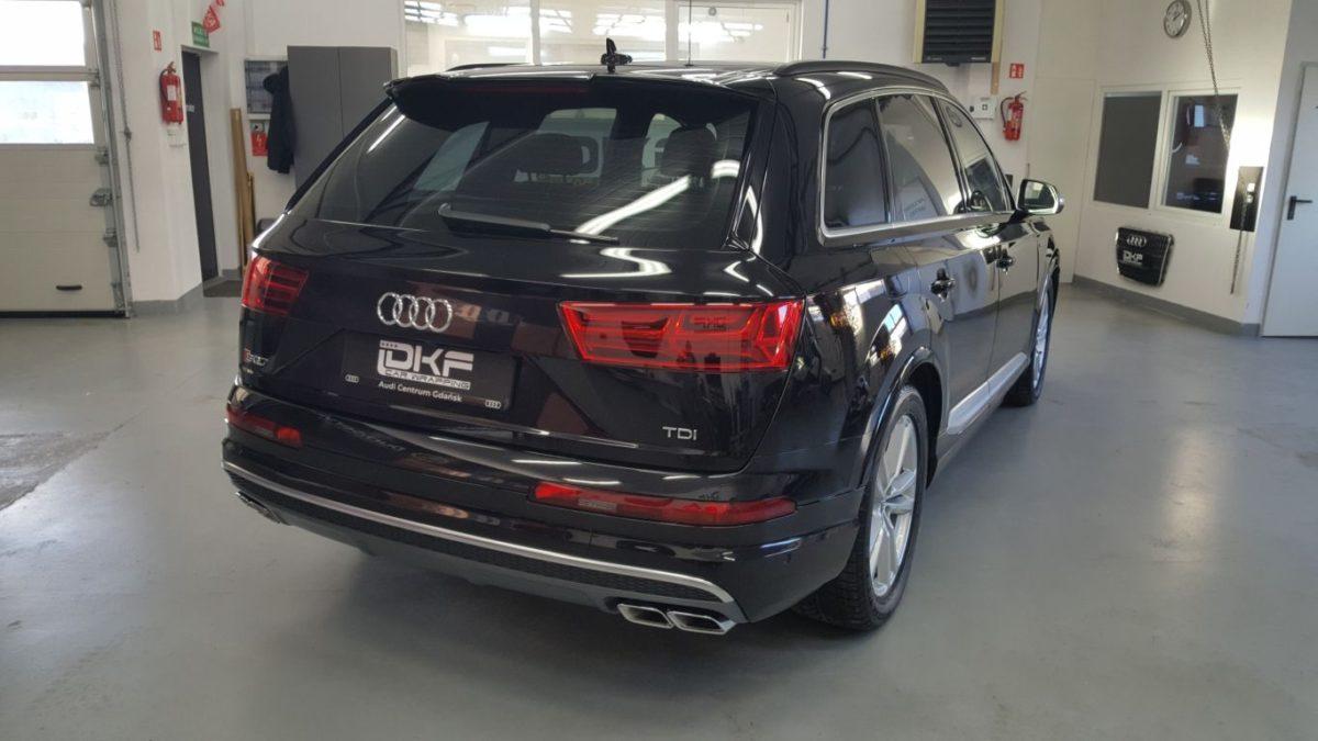 Audi SQ7 Zabezpieczenie Lakieru Folią PPF + Detailing Całości