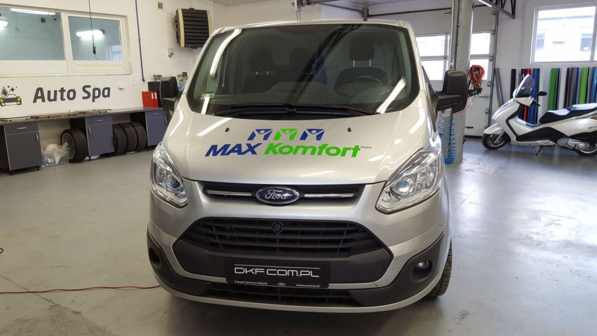 Ford Transit Custom Oklejanie Marketingowe