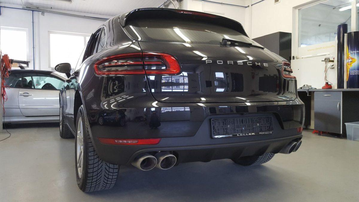 Porsche Macan Przyciemnienie Szyb