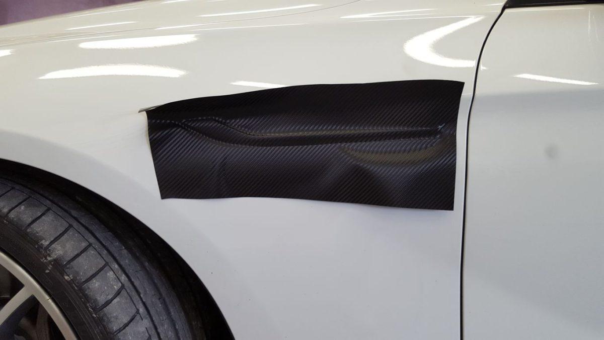 BMW 6 Częściowe Oklejanie – Carbon Black