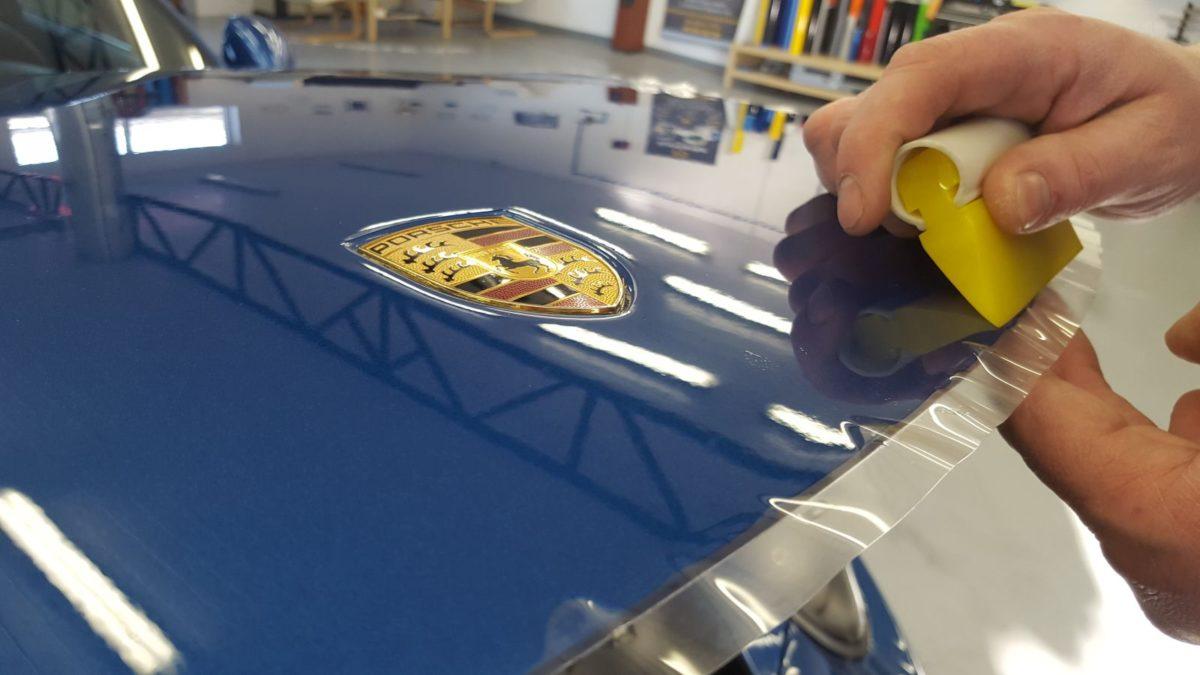 Porsche 911 Targa Zabezpieczenie Lakieru Folią PPF + Detailing Całości