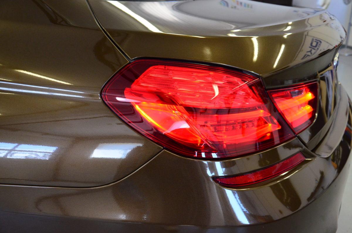 BMW 6 Gran Coupe Zmiana Koloru z Wnękami – Orient Brown Metallic