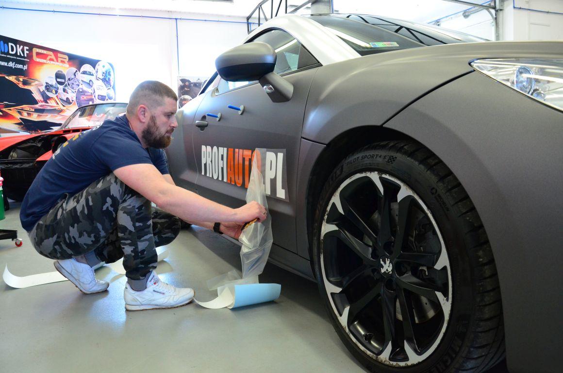 Peugeot RCZ Zmiana Koloru Matte Metallic Charcoal