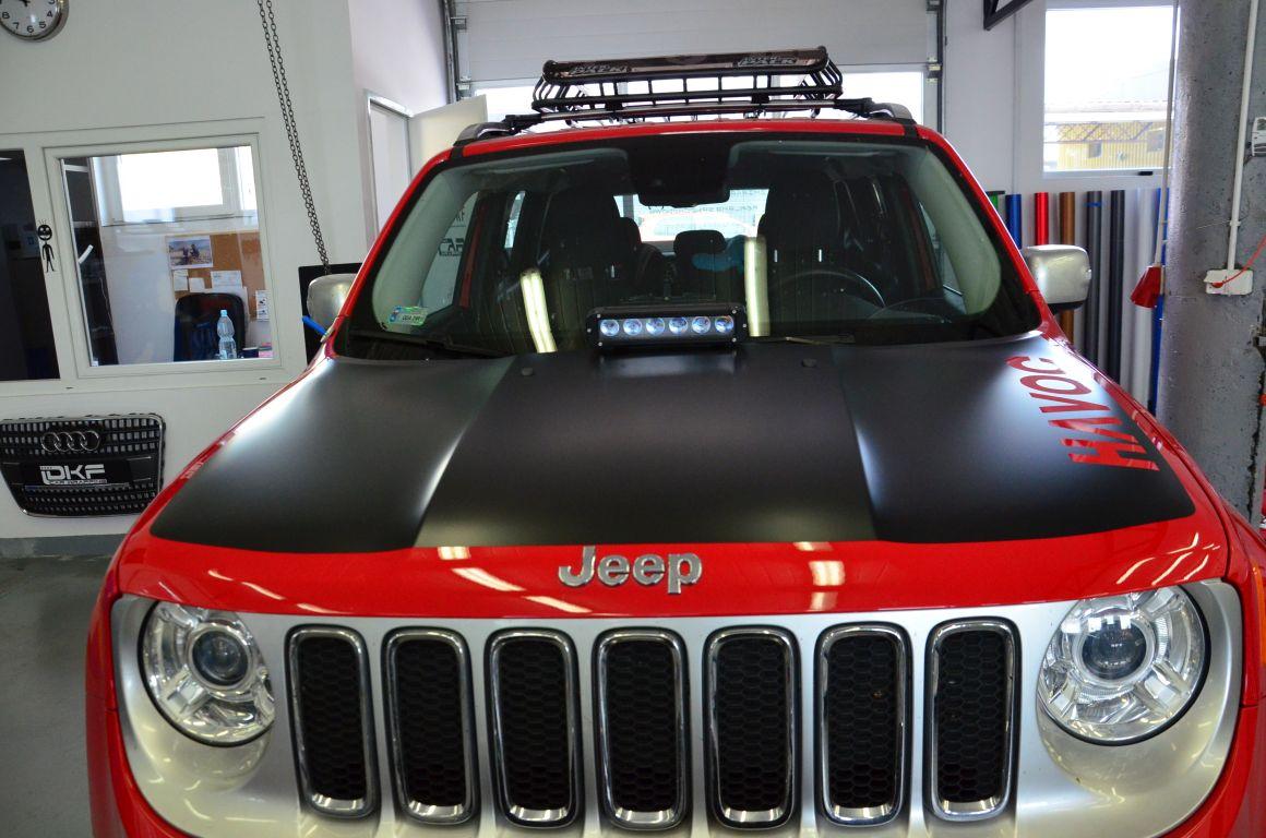 Jeep Renegade Częściowe Oklejanie