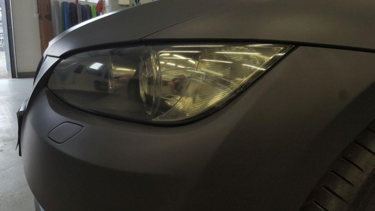 BMW 3 Coupe Zmiana Koloru – Black Matte