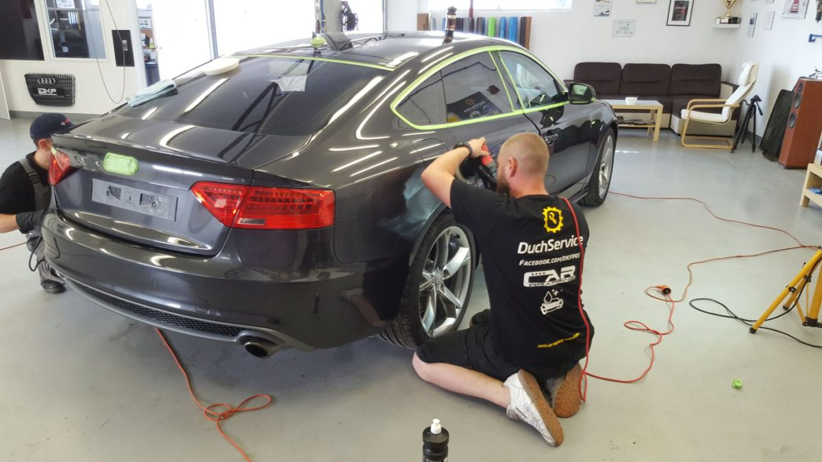 Audi A5 Korekta Lakieru + Powłoka Ceramiczna