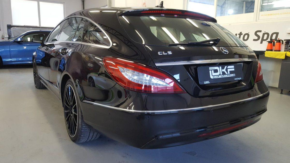 Mercedes CLS Zmiana Koloru Matte Metallic Charcoal + Przyciemnienie Szyb