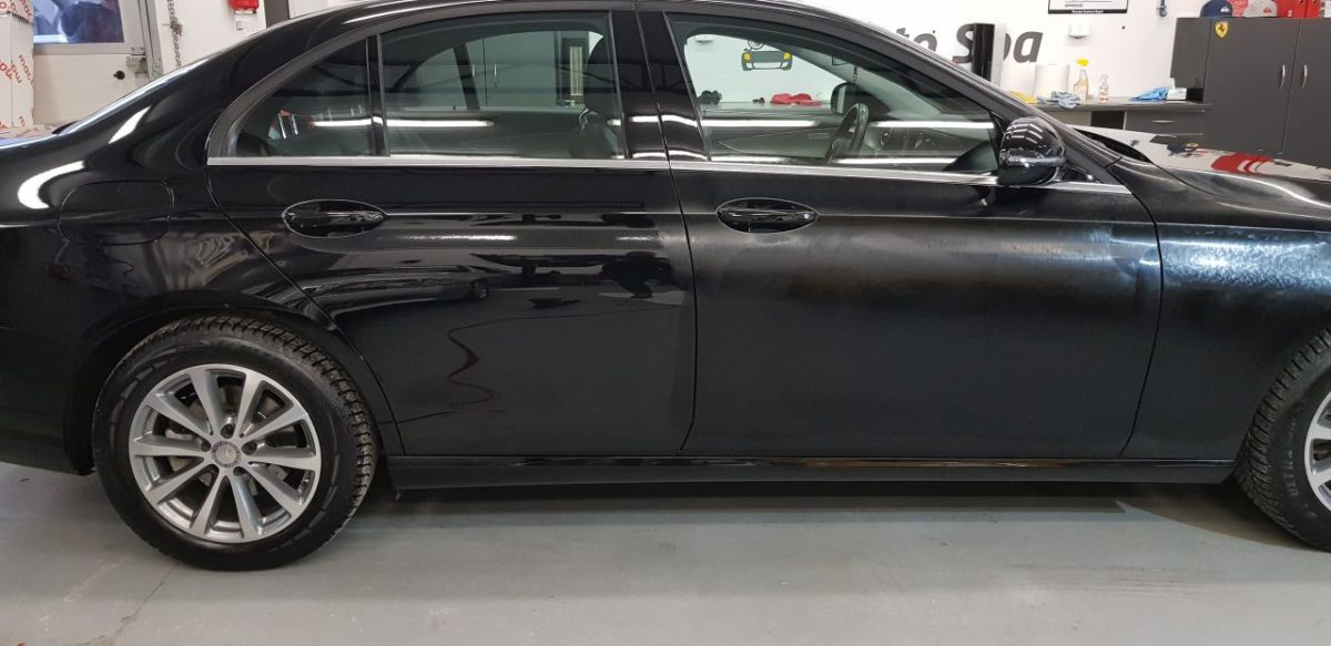 Mercedes C  Korekta Lakieru + Wosk 12M