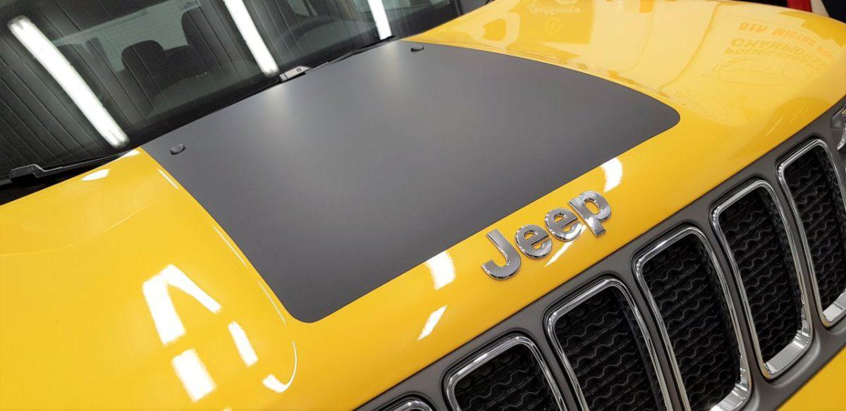 Jeep Renegade Częściowe Oklejenie