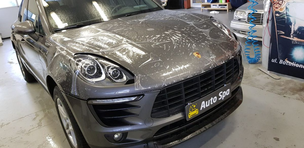 Porsche Macan Zabezpieczenie Lakieru PPF + Wosk 12M