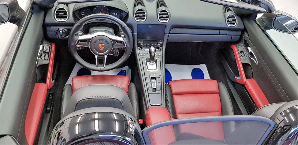Porsche 718 Boxster Zabezpieczenie Lakieru Folią PPF + Detailing Całości