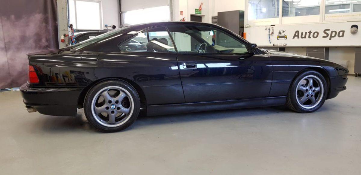 BMW 850 Korekta Lakieru + Wosk 12M